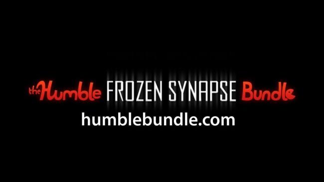 Nuevo Humble Bundle, con Frozen Synapse al precio que quieras y juegos extra si superas la media de lo pagado