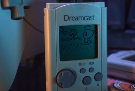 La Visual Memory Unit de Dreamcast