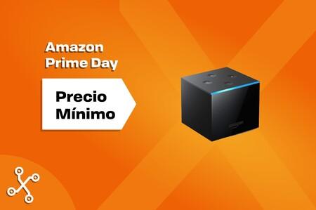 Fire TV Cube casi a mitad de precio: disfruta de Alexa y tus series y películas favoritas por 69,99 euros