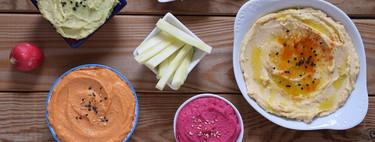 Cómo hacer hummus casero de varios sabores: receta saludable