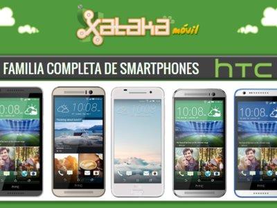 Así queda el catálogo de smartphones HTC tras la llegada del HTC One A9