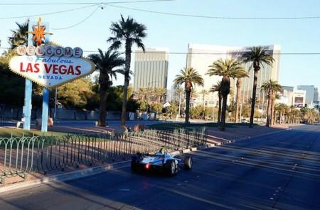 Prototipo Formula E En Las Vegas