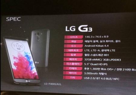 LG G3 es confirmado en un evento secreto realizado en Corea del Sur