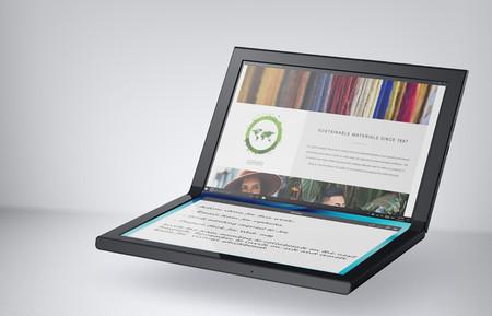 La fiebre de las pantallas plegables llegó a las tablets, esto es Concept Ori y Concept Duet, el nuevo experimento de Dell