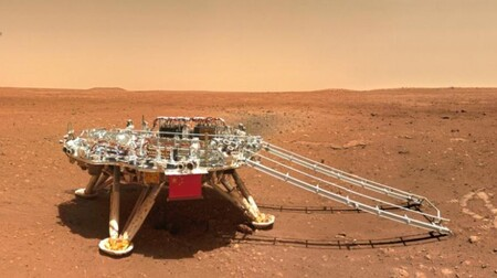 China Rover Marte Vehiculo
