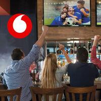 Vodafone dará LaLiga Santander, LaLiga SmartBank, la Champions y la Europa League, pero sólo en los bares