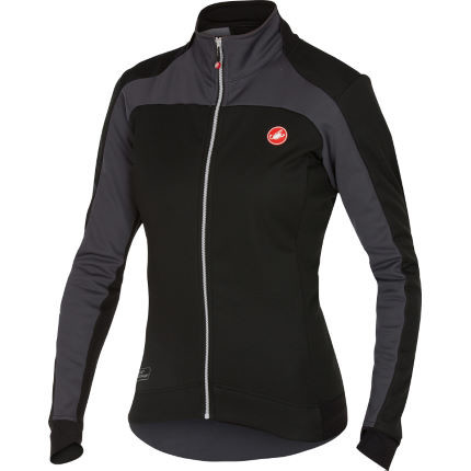 Castelli Women S Mortirolo 2 Jacket Cycling Windproof Jackets Black Anthracite Aw17