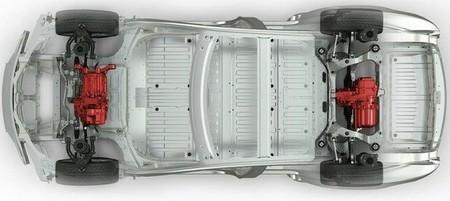 Tesla Model S Motor Dual