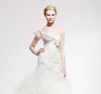 Los vestidos de novia Marchesa para una boda de lujo