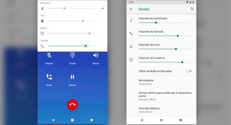 Android P Beta 3 te permite elegir un volumen distinto para las llamadas