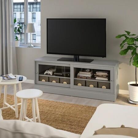 Havsta Mueble Tv Con Zocalo Gris 0914746 Pe784279 S5