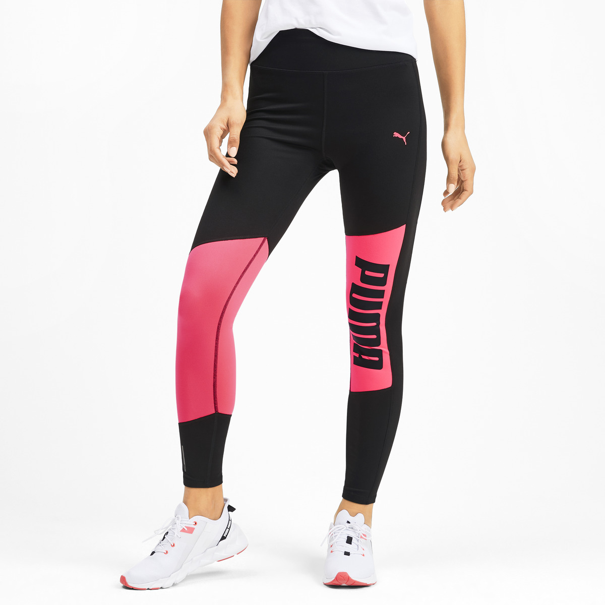 Malla de mujer Logo 7/8 Graphic Tight Puma