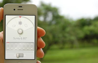 Viste tu smartphone con las aplicaciones más elegantes: el tiempo