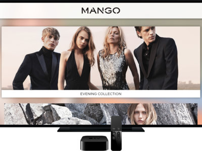 Mango lanza su propia aplicación en exclusiva para Apple Tv