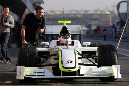 Jenson Button y Brawn GP los más rápidos del tercer día