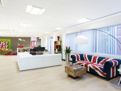 Espacios para trabajar: las oficinas de Just Eat en Inglaterra