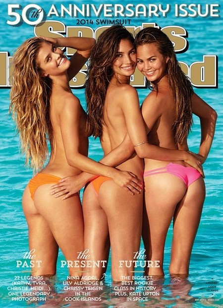 Ya tenemos entre nosotros la portada del 50 aniversario de la revista Sports Illustrated Swimsuit Edition