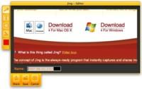 Jing Project, captura imágenes y crea screencasts