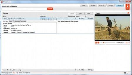 Tribler un cliente BitTorrent totalmente descentralizado