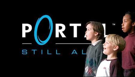 """Still Alive"", la canción de 'Portal', cantada por un coro de niños. Entrañablemente freak"