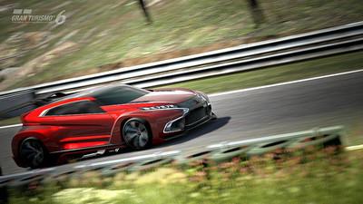 Así es el Mitsubishi Vision GT que 'Gran Turismo 6' integró en su última actualización