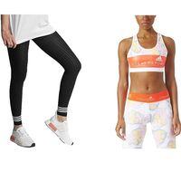 Ofertas en ropa deportiva para mujer Adidas en Amazon: leggings, camisetas o tops a precio de chollo en tallas sueltas