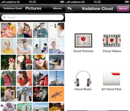 La nube de Vodafone llega a los clientes con dispositivos iOS