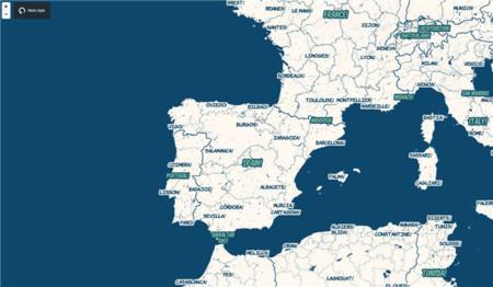 MapBox demuestra la potencia de su motor cartográfico vectorial