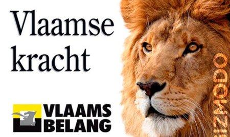 El león de Apple es el símbolo de un partido belga de extrema derecha