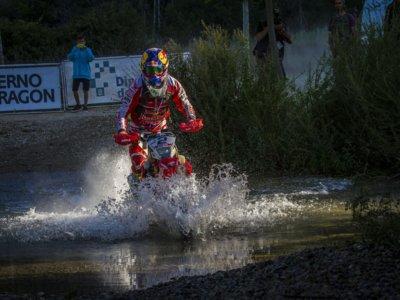 Joan Barreda arrasa para ganar su tercera Baja Aragón, Joan Lascorz se impone en su categoría