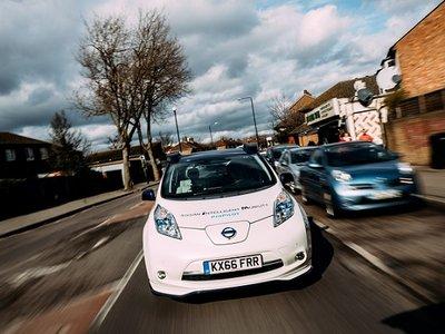 Nissan prueba vehículos autónomos en las calles de Europa