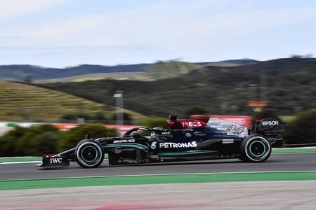 Lewis Hamilton lidera por la mínima en Portugal con Carlos Sainz y Fernando Alonso en el top cinco