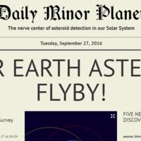Miles de asteroides se acercan a la Tierra y con esta newsletter podrás saberlo todo sobre ellos