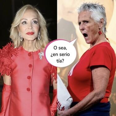 Carmen Lomana pone verde a Mercedes Milá por sus arrugas y ella responde en Instagram