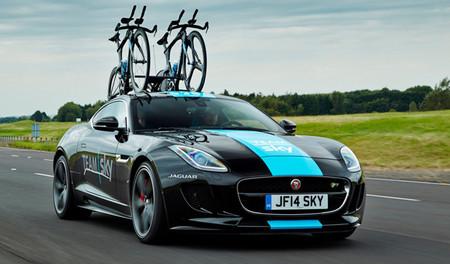 Así es el coche de apoyo de Jaguar para el Tour de Francia