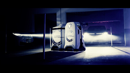Volkswagen Robot Cargador Coche Electrico 5
