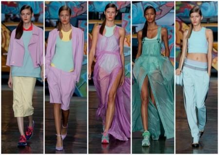 DKNY tendencia 2014 colores pastel