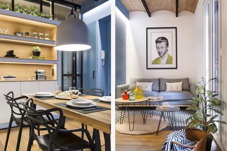 Cuarenta y ocho metros cuadrados dan para mucho, si las ideas decorativas están claras