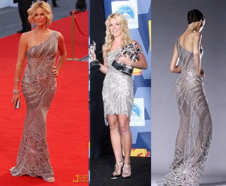 Vestido de Versace Atelier: ¿Charlize o Britney?