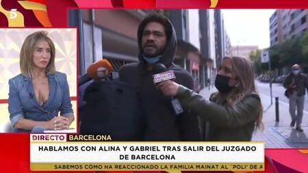 Socialite Gabriel El Novio De Alina En El Caso Mainat Termina A Golpes Con La Prensa Lamentable