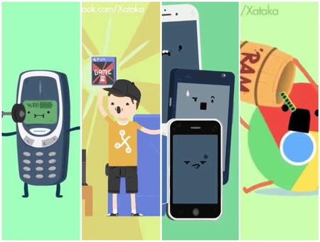 Estas son las 19 mejores animaciones de humor geek que hemos creado en Xataka