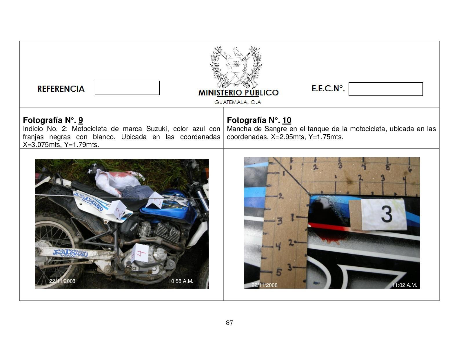 Foto de Simulación balacera contra motorista (5/12)