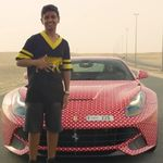 """""""Papá, le voy a poner al Ferrari F12Berlinetta un vinilo de Louis Vuitton"""" y pasa esto"""