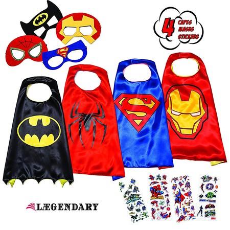 Una manera diferente de enfocar los disfraces de superhéroes: pack de 4 disfraces Legendary por 24,98€