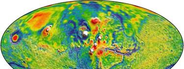 ¿Cómo fluía el agua en Marte? Ahora lo sabemos gracias a este mapa de gravedad