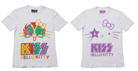 Hello Kitty Kiss camiseta blanca