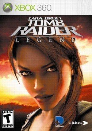 Tomb Raider Legend y su carátula