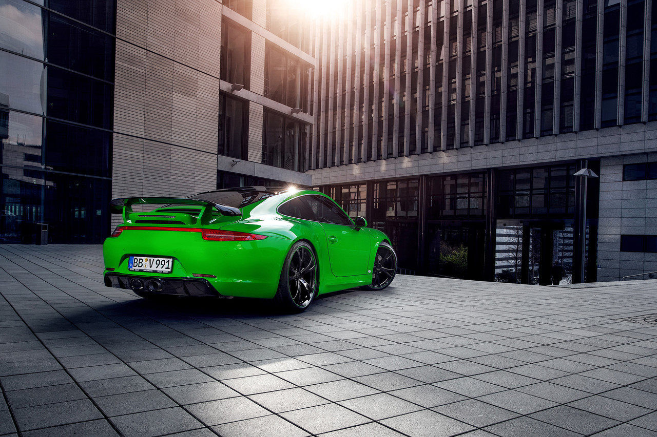 Foto de Porsche 911 Carrera 4S por TechArt (21/32)
