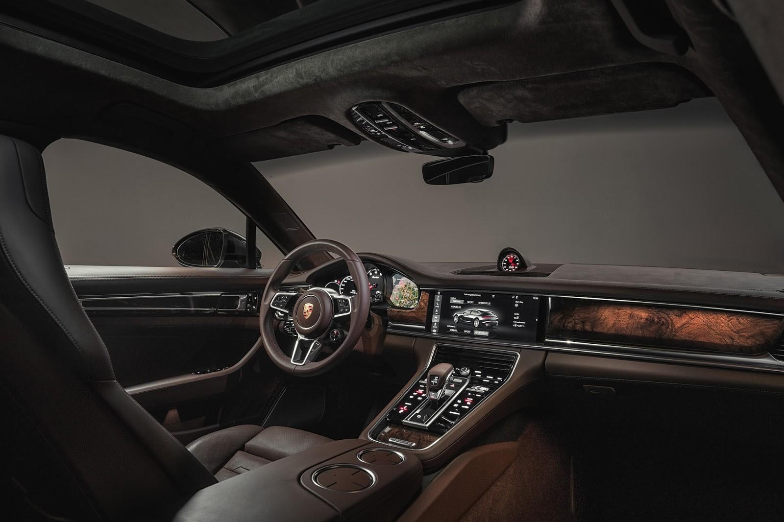 Foto de Porsche Panamera Sport Turismo (16/21)