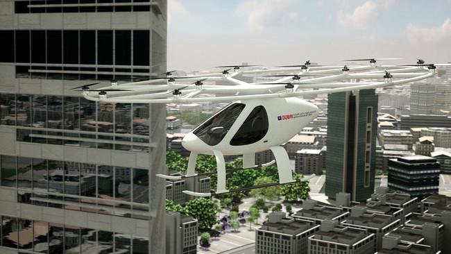 Volocopter, el helicóptero eléctrico autónomo, recibe permiso para comenzar pruebas en Dubai